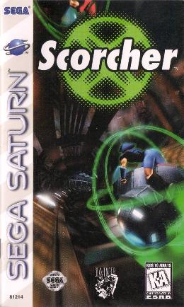 Carátula o portada EEUU del juego Scorcher para Saturn