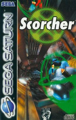Carátula o portada Europea del juego Scorcher para Saturn