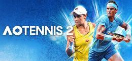 Carátula de AO Tennis 2 para PlayStation 4
