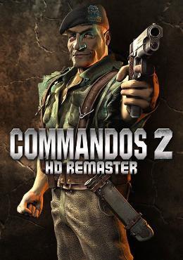 Carátula de Commandos 2: HD Remaster para PlayStation 4