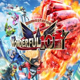Carátula o portada Europea del juego The Wonderful 101: Remastered para Nintendo Switch