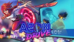 Carátula de Aeon Drive para PlayStation 4