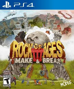 Carátula de Rock of Ages III: Make & Break para PlayStation 4