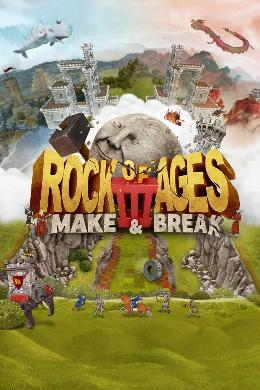 Carátula de Rock of Ages III: Make & Break para Xbox One