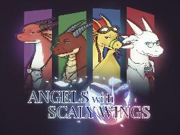 Carátula o portada Europea del juego Angels with Scaly Wings para Nintendo Switch