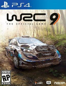 Carátula de WRC 9 para PlayStation 4