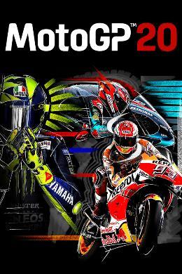Carátula de MotoGP 20 para PlayStation 4