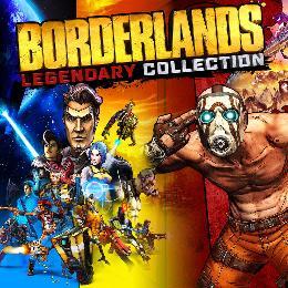 Carátula de Colección Legendaria de Borderlands para Nintendo Switch