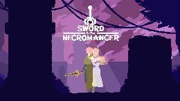 Carátula o portada Logo Oficial del juego Sword of the Necromancer para PlayStation 4