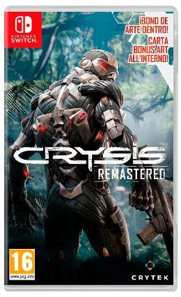 Carátula de Crysis Remastered para Nintendo Switch