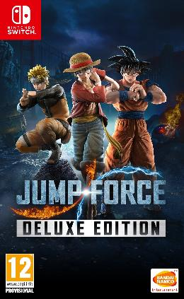 Carátula de Jump Force - Deluxe Edition para Nintendo Switch