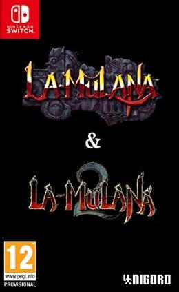 Carátula de La-Mulana 1 & 2 Hidden Treasures Edition para Nintendo Switch