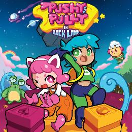 Carátula de Pushy and Pully in Blockland para Nintendo Switch