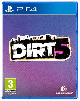 Carátula de DIRT 5 para PlayStation 4