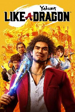 Carátula de Yakuza: Like a Dragon para Xbox