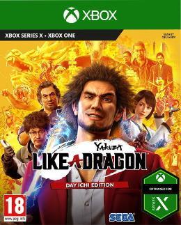 Carátula de Yakuza: Like a Dragon para Xbox One