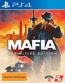 Carátula de Mafia: Definitive Edition para PlayStation 4