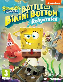 Carátula o portada Europea del juego SpongeBob SquarePants: Battle for Bikini Bottom - Rehydrated para Xbox One