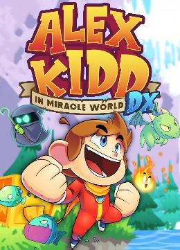 Carátula o portada Europea del juego Alex Kidd in Miracle World DX para Nintendo Switch