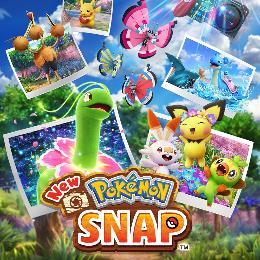 Carátula o portada Europea del juego New Pokémon Snap para Nintendo Switch