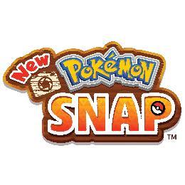Carátula o portada Logo Oficial del juego New Pokémon Snap para Nintendo Switch