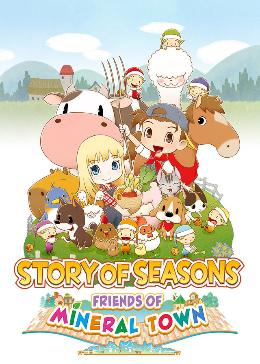 Carátula de Story of Seasons: Friends of Mineral Town para PC