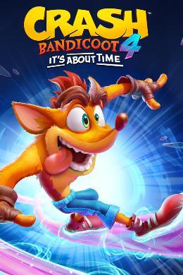 Carátula de Crash Bandicoot 4: It's About Time para PlayStation 4