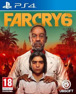 Carátula de Far Cry 6 para PlayStation 4