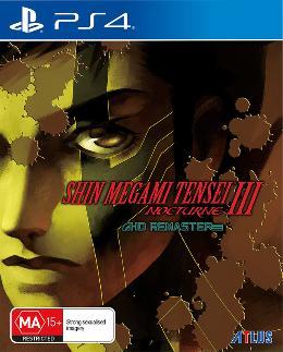 Carátula de Shin Megami Tensei III: Nocturne HD Remaster para PlayStation 4