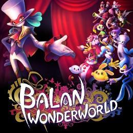 Carátula de Balan WonderWorld para PlayStation 4