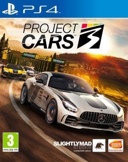 Carátula o portada Europea del juego Project CARS 3 para PlayStation 4