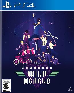 Carátula de Sayonara Wild Hearts para PlayStation 4