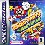 Carátula de Mario Party Advance