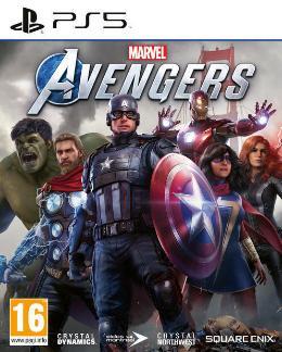 Carátula de Marvel's Avengers para PlayStation 5
