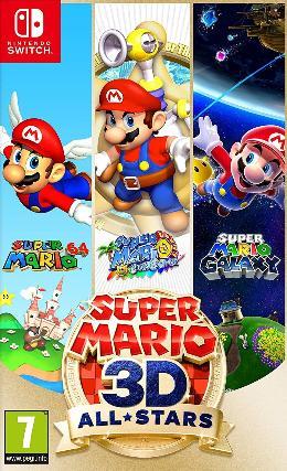 Carátula de Super Mario 3D All-Stars para Nintendo Switch