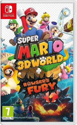 Carátula de Super Mario 3D World + Bowser's Fury