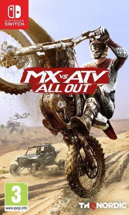 Carátula de MX vs. ATV All Out