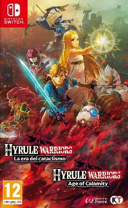 Carátula de Hyrule Warriors: La Era del Cataclismo