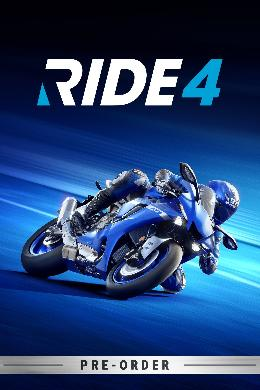 Carátula de RIDE 4 para PlayStation 4