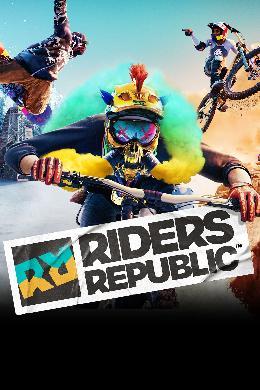 Carátula de Riders Republic para Stadia