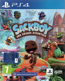 Carátula de Sackboy: Una aventura a lo grande para PlayStation 4