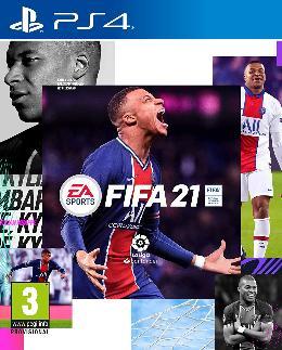 Carátula de FIFA 21 para PlayStation 4