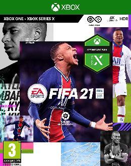 Carátula de FIFA 21 para Xbox One