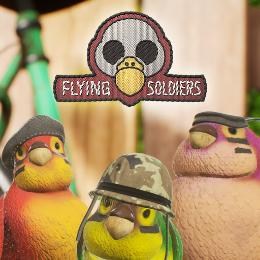 Carátula de Flying Soldiers para PlayStation 4
