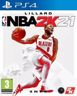Carátula de NBA 2K21 para PlayStation 4