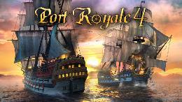 Carátula de Port Royale 4 para PlayStation 4