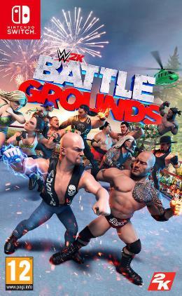 Carátula de WWE 2K Battlegrounds para Nintendo Switch
