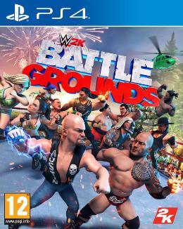 Carátula de WWE 2K Battlegrounds para PlayStation 4