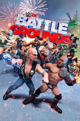 Carátula de WWE 2K Battlegrounds para Stadia