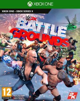 Carátula de WWE 2K Battlegrounds para Xbox One